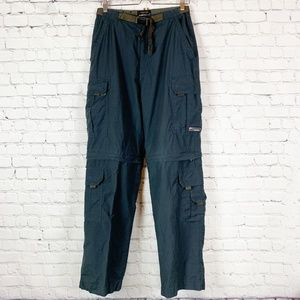 Wear 1 First Navy Blue Convertible Hiking Pants